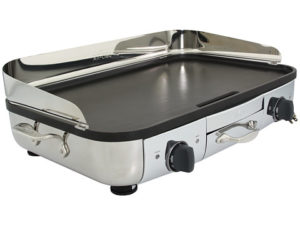 allclad gt electric griddle with 20x13inch hard anodized cooking surface - Electric Griddles