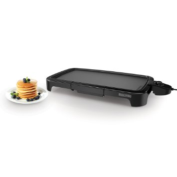 best electric griddles BLACK+DECKER GD2011B Family Sized Electric Griddle