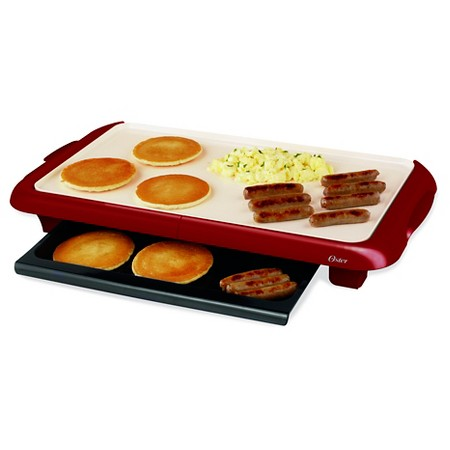 oster duraceramic griddle with warming tray - Electric Griddles