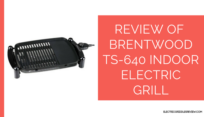 Brentwood TS-640 Indoor Electric BBQ Grill
