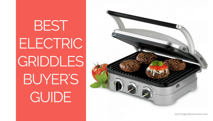 Best electric griddle buyer's guide