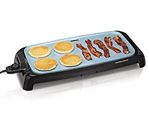 Hamilton Beach 38519 Beach Reversible Durathon Ceramic Griddle