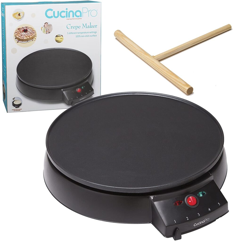 large round electric griddle