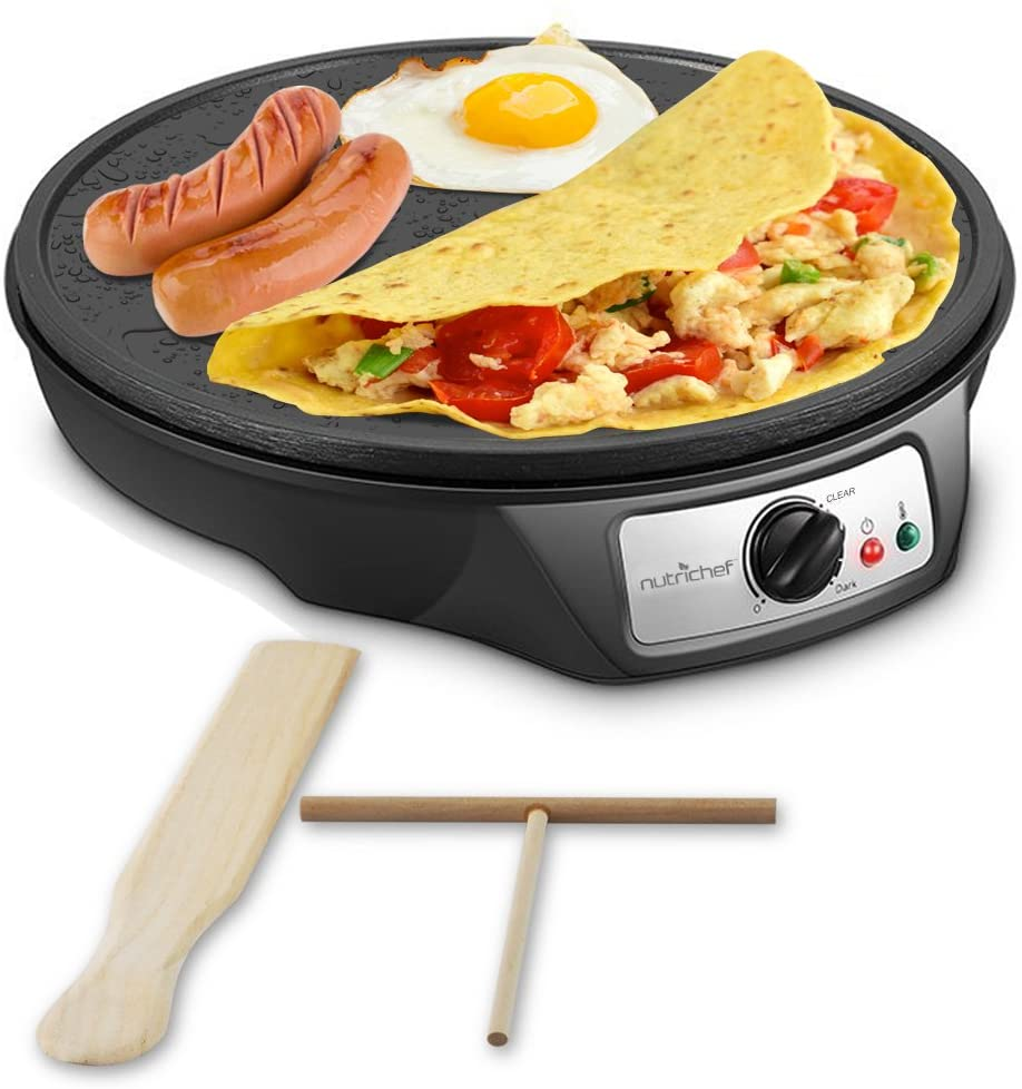 round electric griddle